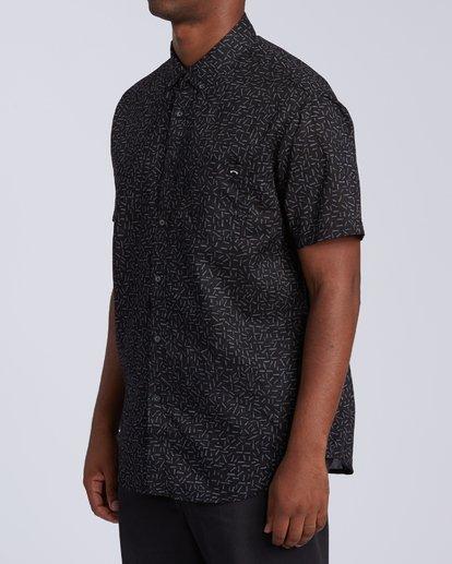 1 Sundays Mini Short Sleeve Shirt Multicolor M5033BSM Billabong