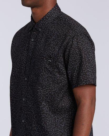 2 Sundays Mini Short Sleeve Shirt Multicolor M5033BSM Billabong