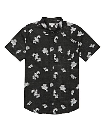 3 Sundays Mini Short Sleeve Shirt Black M503VBSM Billabong