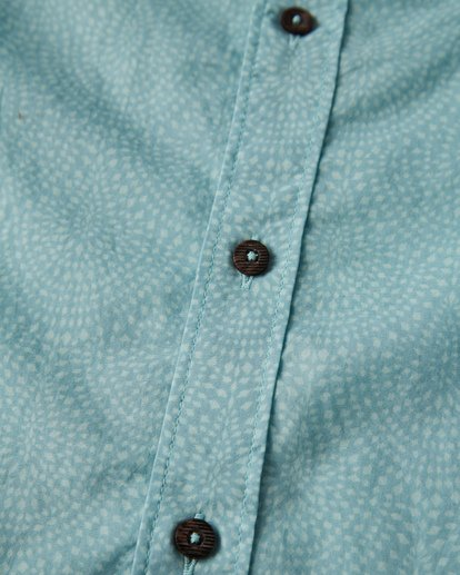 2 Sundays Mini Short Sleeve Shirt Blue M503VBSM Billabong