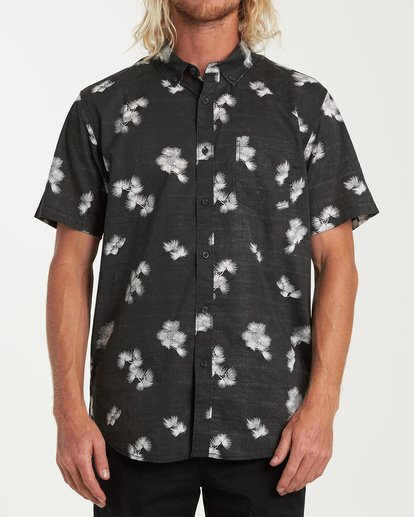 0 Sundays Mini Short Sleeve Shirt Black M503VBSM Billabong
