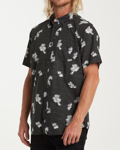 1 Sundays Mini Short Sleeve Shirt Black M503VBSM Billabong