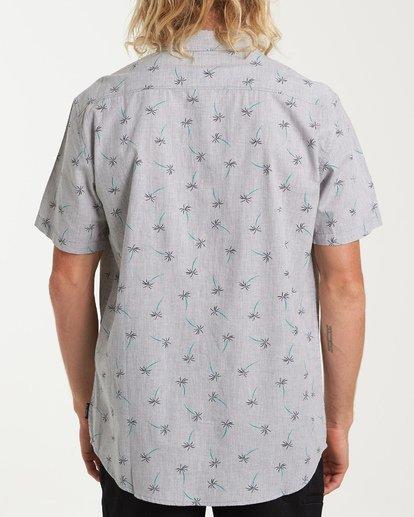2 Sundays Mini Short Sleeve Shirt Grey M503VBSM Billabong