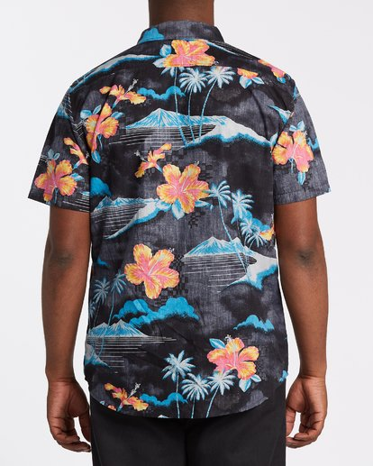 2 Sundays Floral Short Sleeve Shirt Multicolor M5041BSF Billabong