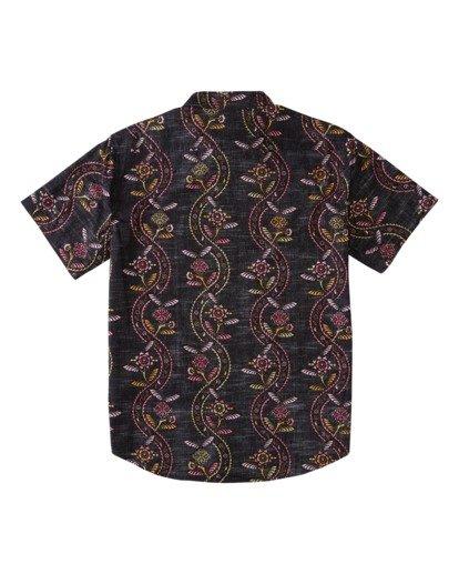 1 Sundays Floral Short Sleeve Shirt Black M5043BSF Billabong