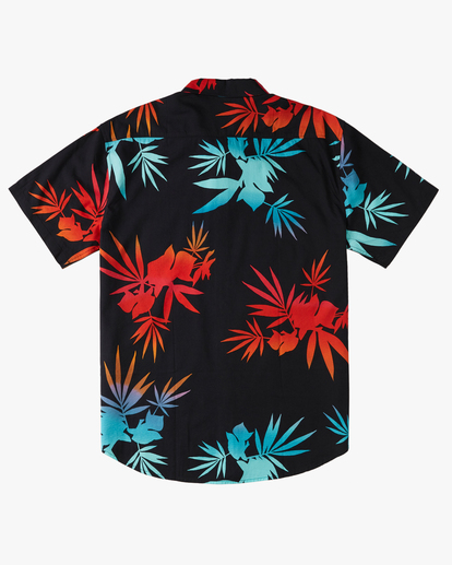 5 Sundays Floral Short Sleeve Shirt Multicolor M5043BSF Billabong
