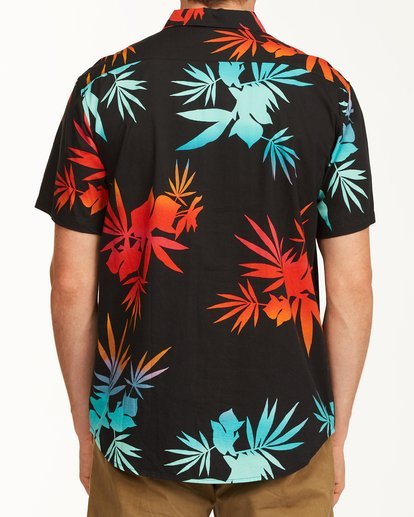 2 Sundays Floral Short Sleeve Shirt Multicolor M5043BSF Billabong