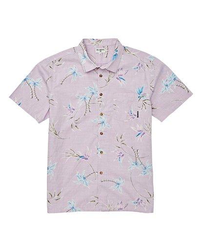 4 Sundays Floral Short Sleeve Shirt Pink M504VBSF Billabong