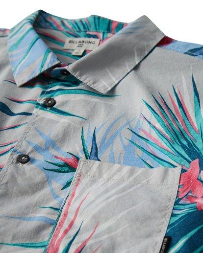 1 Sunday's Floral Short Sleeve Shirt Beige M504VBSF Billabong