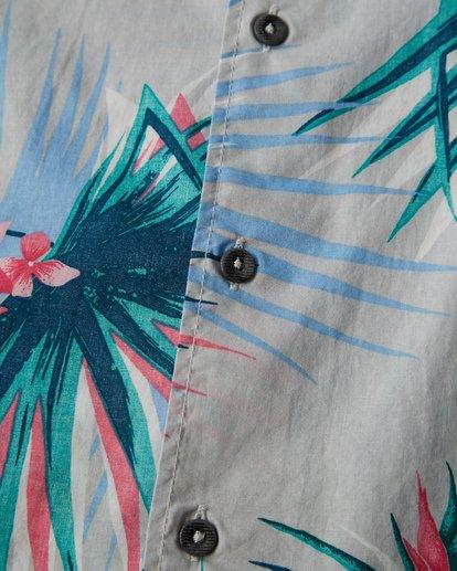 2 Sunday's Floral Short Sleeve Shirt Beige M504VBSF Billabong