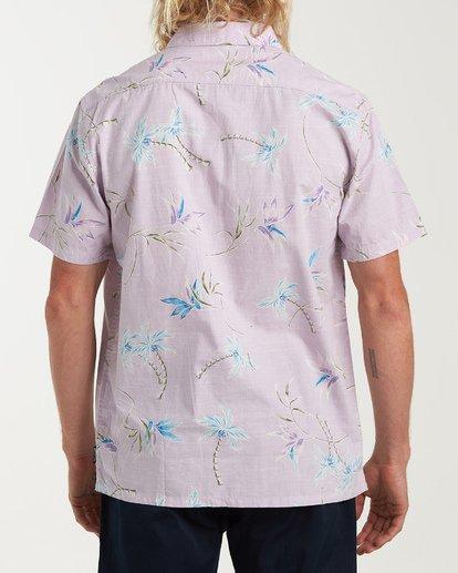 2 Sundays Floral Short Sleeve Shirt Pink M504VBSF Billabong