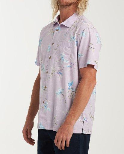 1 Sundays Floral Short Sleeve Shirt Pink M504VBSF Billabong