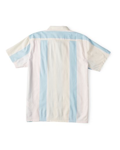 4 Hux Short Sleeve Shirt Pink M504WBXE Billabong
