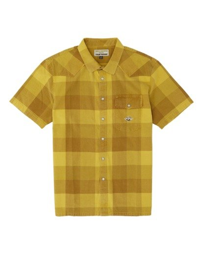 3 Four Doors Short Sleeve Shirt Multicolor M5051BFD Billabong