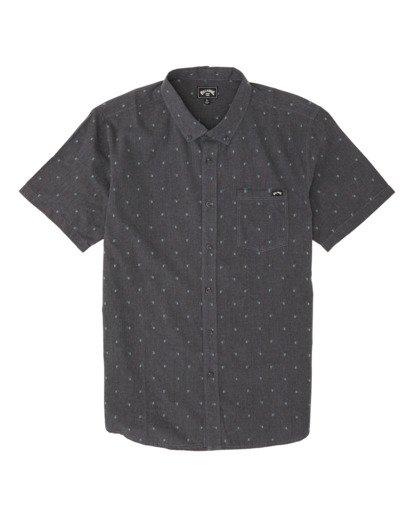3 All Day Jacquard Shirt Black M5071BSJ Billabong