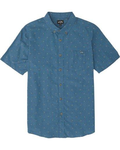 3 All Day Jacquard Shirt Grey M5071BSJ Billabong