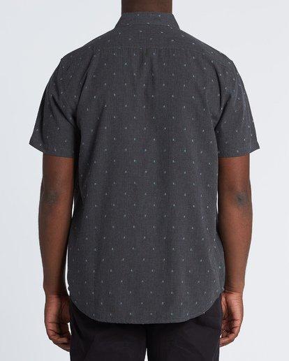 2 All Day Jacquard Shirt Black M5071BSJ Billabong
