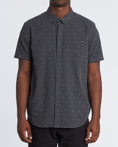 0 All Day Jacquard Shirt Black M5071BSJ Billabong