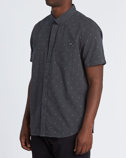 1 All Day Jacquard Shirt Black M5071BSJ Billabong