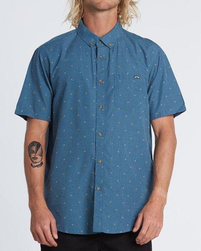 0 All Day Jacquard Shirt Grey M5071BSJ Billabong