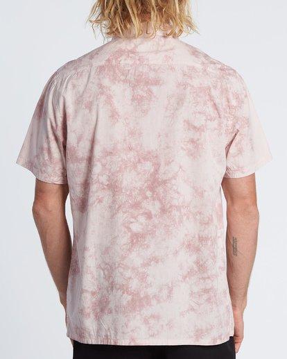 2 Sundays Tie Dye Short Sleeve Shirt Pink M5081BTD Billabong