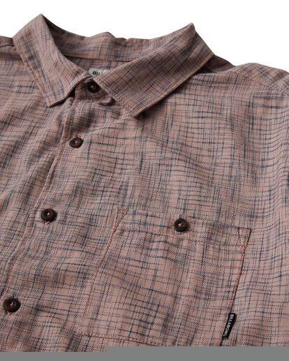 1 Shoreline Short Sleeve Shirt Pink M514VBSH Billabong