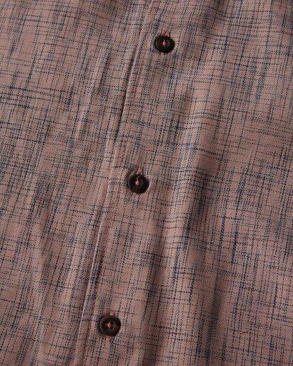 2 Shoreline Short Sleeve Shirt Pink M514VBSH Billabong