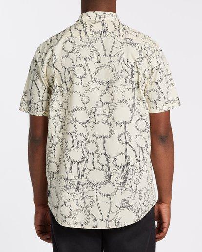 2 Truffula Short Sleeve Shirt Beige M5162BLO Billabong