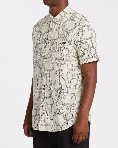 1 Truffula Short Sleeve Shirt Beige M5162BLO Billabong