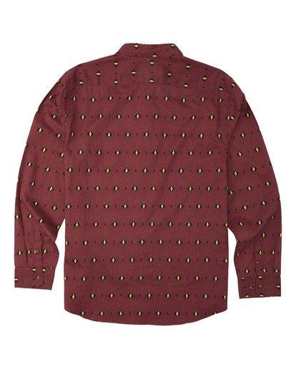 9 Sundays Mini Long Sleeve Shirt Red M5183BSM Billabong