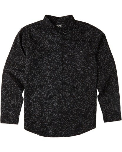 4 Sundays Mini Long Sleeve Shirt Multicolor M5183BSM Billabong