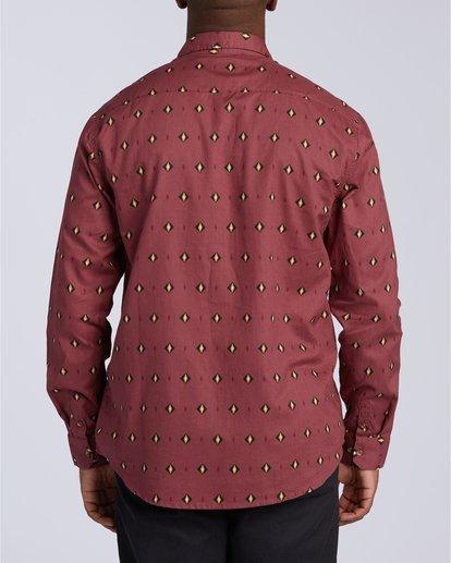 2 Sundays Mini Long Sleeve Shirt Red M5183BSM Billabong