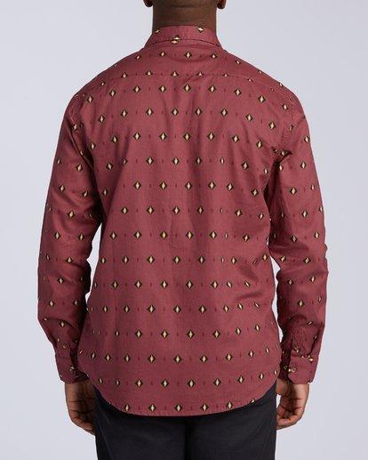 7 Sundays Mini Long Sleeve Shirt Red M5183BSM Billabong