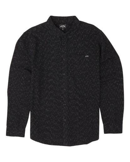 3 All Day Long Sleeve Shirt Black M5201BAL Billabong