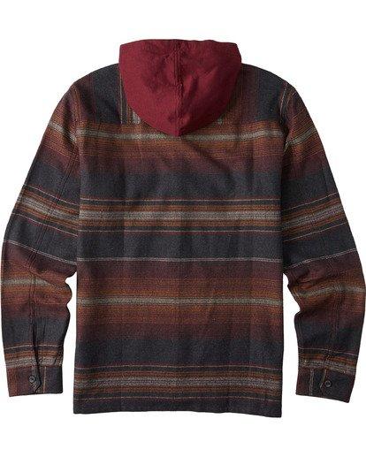 7 Baja Flannel Shirt Black M5213BBF Billabong