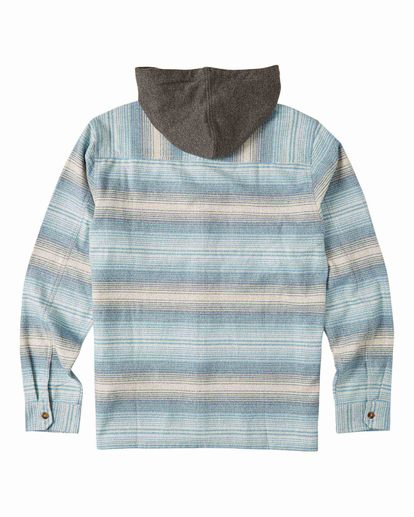 5 Baja Flannel Shirt Beige M5213BBF Billabong