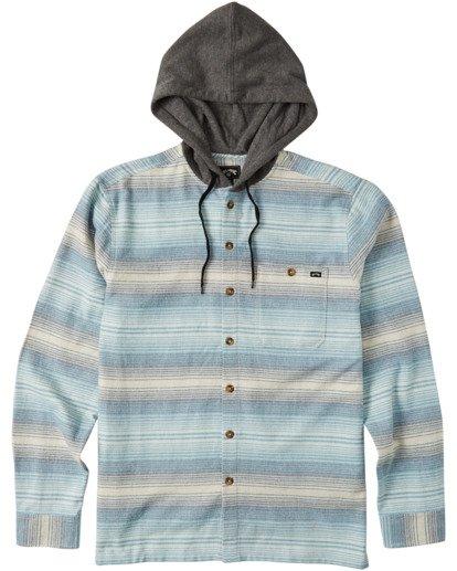 4 Baja Flannel Shirt Beige M5213BBF Billabong