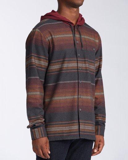 2 Baja Flannel Shirt Black M5213BBF Billabong