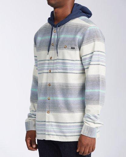 1 Baja Flannel Shirt Blue M5213BBF Billabong