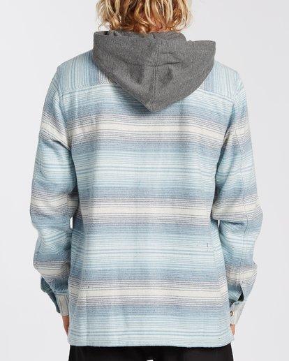 2 Baja Flannel Shirt Beige M5213BBF Billabong
