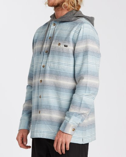 1 Baja Flannel Shirt Beige M5213BBF Billabong