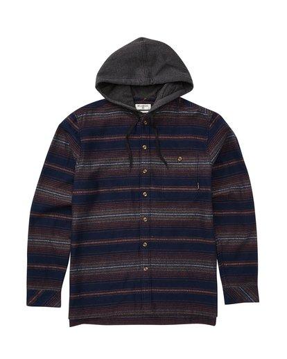 0 Baja Flannel Shirt  M521TBBF Billabong