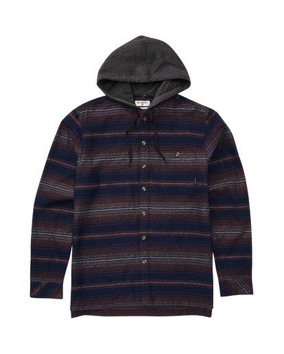1 Baja Flannel Shirt  M521TBBF Billabong