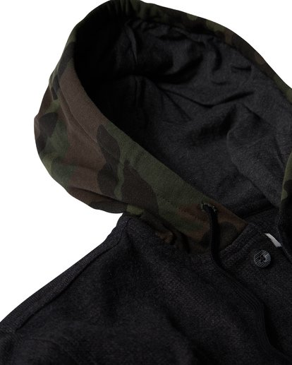 2 Baja Flannel Shirt Black M521VBBF Billabong