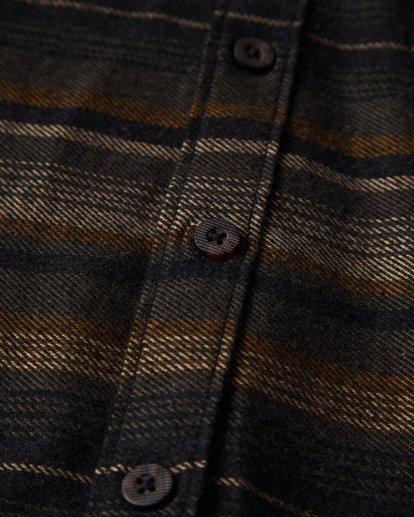 3 Baja Flannel Shirt Black M521VBBF Billabong