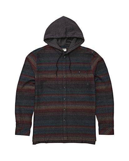 5 Baja Flannel Shirt Black M521VBBF Billabong