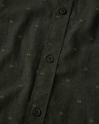 2 All Day Jaquard Long Sleeve Shirt Black M522VBAJ Billabong