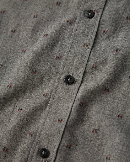 2 All Day Jaquard Long Sleeve Shirt Grey M522VBAJ Billabong