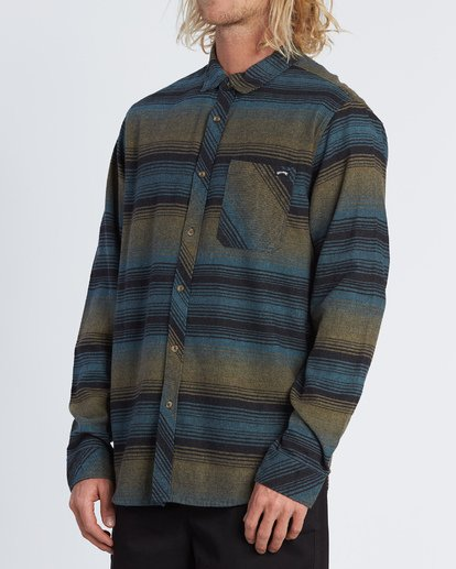 1 Freemont Flannel Shirt Black M5231BFR Billabong