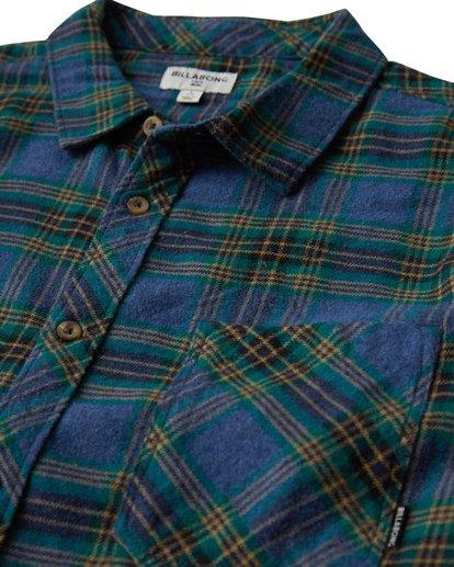 1 Freemont Flannel Shirt Blue M523VBFR Billabong